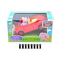 Машинка для пикника с героем мультфильма Свинка Пеппа.