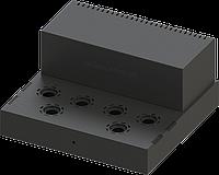 Металлический корпус двухтактный ламповый усилитель на 6П3С и 6Н9С