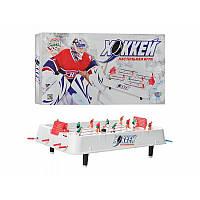 Хоккей 0701 JT на штангах, на ножках (5,5см), 51-28-15см, шкала вед.счета, в кор-ке, 53,5-29-6см
