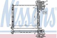 Радиатор охлаждения Mercedes Vito (638 кузов)