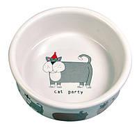 Миска Trixie Assortment Ceramic Bowls для кошек, керамика, 0.2 л