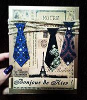 """Листівка для чоловіка """"Краватка"""", фото 1"""