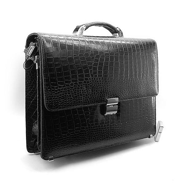 91adcfa97a67 Портфель кожаный мужской классический каркасный черный Desisan 205 ...
