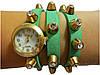 Женские часы браслет , зеленые . Доставка по всей Украине