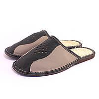 Тапочки мужские кожаные TapMal m02, фото 1