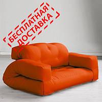 """Диван кровать""""hippo"""" оранж, бескаркасный диван, диван раскладной,маленький диван,диван трансформер."""