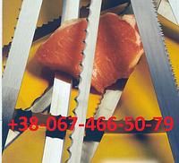 Пищевая пила сваренная в кольцо, L=1550 мм, ленточные пилы по мясу, стрічкові пили по м'ясу