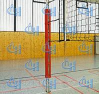 Стойки телескопические волейбольные со стаканами