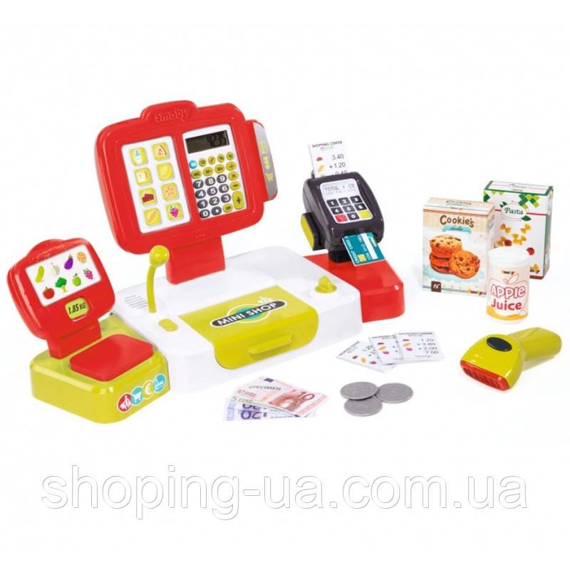 Детская электронная касса с сканером Smoby 350107