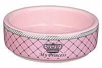 Миска Trixie My Princess Ceramic Bowl для кошек, керамика, 80 мл