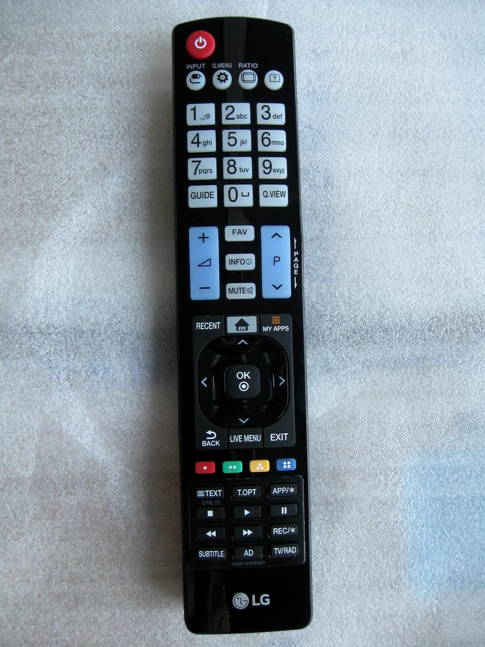 Пульт управления для телевизора LG AKB74455401