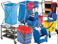 Гостинничные  тележки  для уборки