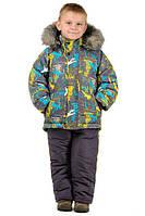 Детские зимние комбинезоны и куртки для мальчиков