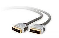 Кабель Scart plug to scart plug 5 m Techlink в Одессе