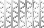 Лист перфорированный: треугольные отверстия