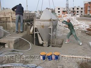 Добавка для гидроизоляции бетона на растворном узле