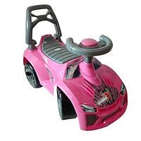 Машинка для катания ЛАМБО розовый ОРИОН 021