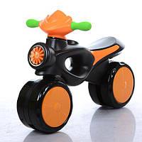 Каталка-толокар мотоцикл 8201-7 Bambi, оранжевый
