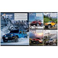 Тетрадь в линию 12 листов760703«Off Road» Зошит Украины