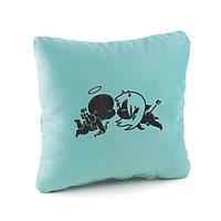 Подушки любимым «Ангелочки» флок
