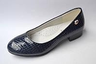 Школьные лакированные черные туфли для девочек 33,34,35,36,37,38р.
