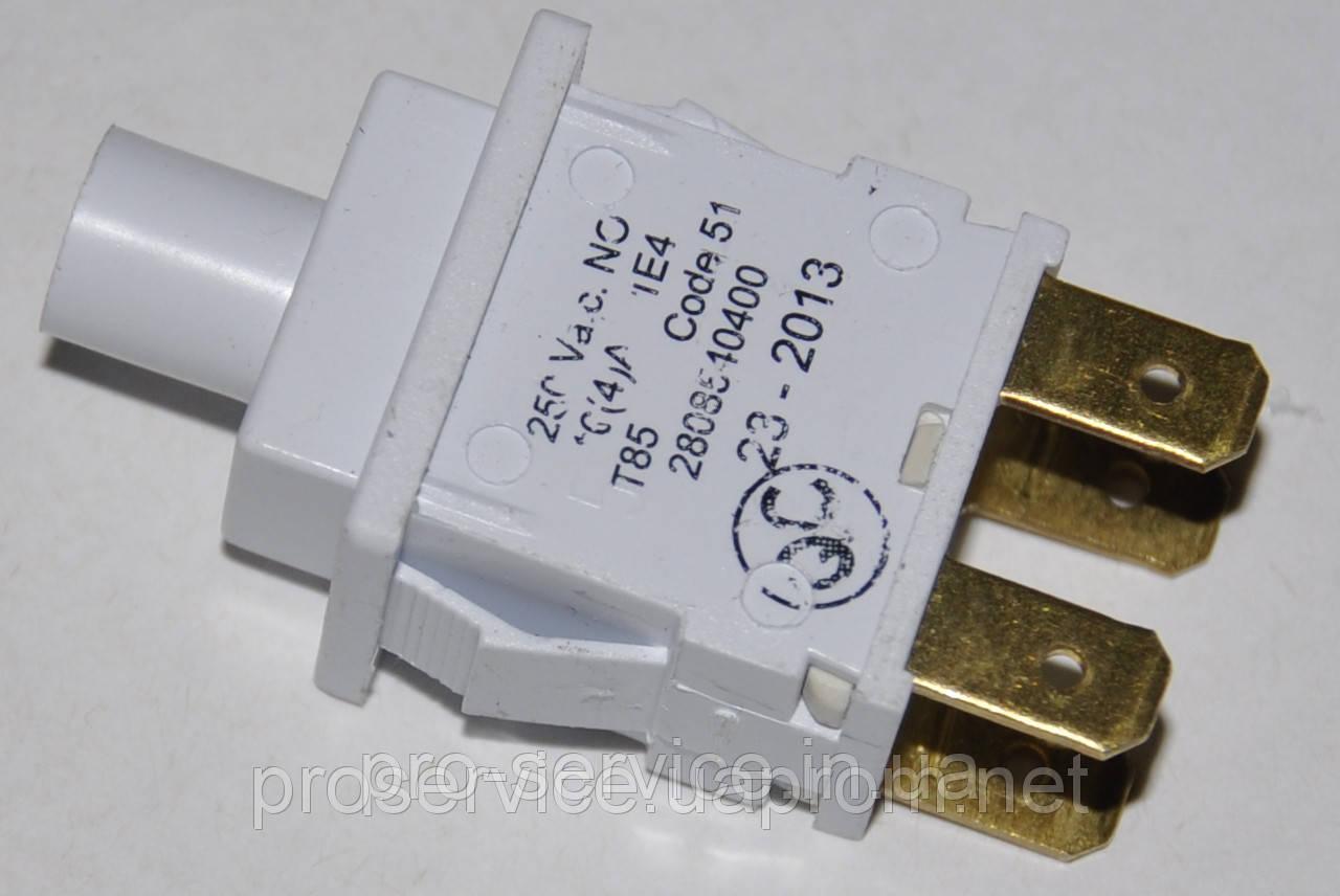 Кнопка сетевая 2808540400 для стиральных машин Beko