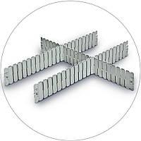 Разделители для евроконтейнеров DPS 4591 серый (600х2.5х85 мм)