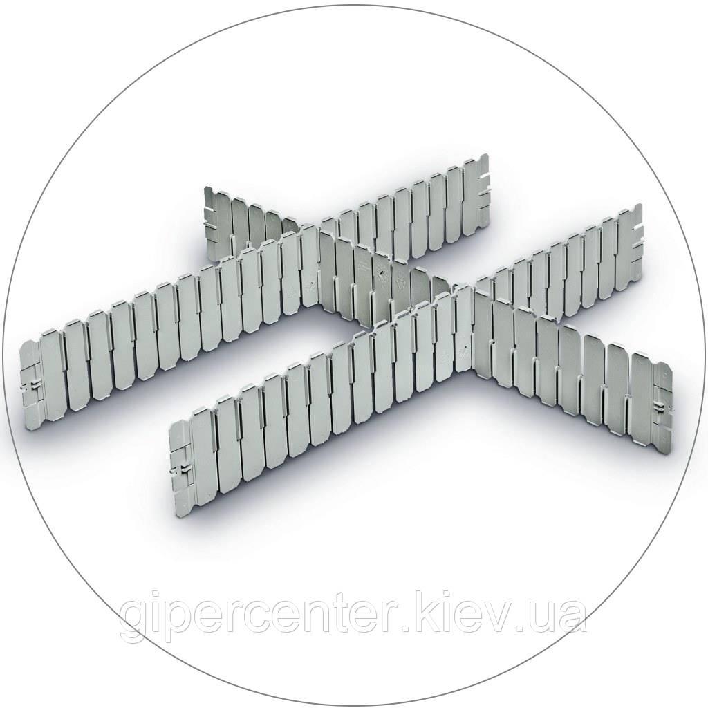 Разделители для евроконтейнеров DPS 4591 серый (600х2.5х85 мм) - GIPERCENTER Kiev в Киеве