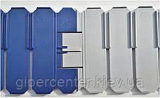 Разделители для евроконтейнеров DPS 4591 серый (600х2.5х85 мм), фото 2