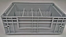 Разделители для евроконтейнеров DPS 4591 серый (600х2.5х85 мм), фото 3