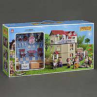 Игровой домик Happy Family, мебель, световые эффекты