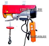 Тельфер (электрическая лебедка) 220В РА 400/800кг 25метров (22-802)