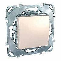 Переключатель одноклавишный сл.кость Schneider Electric - Unica (Шнейдер Электрик Уника mgu3.203.25), фото 1