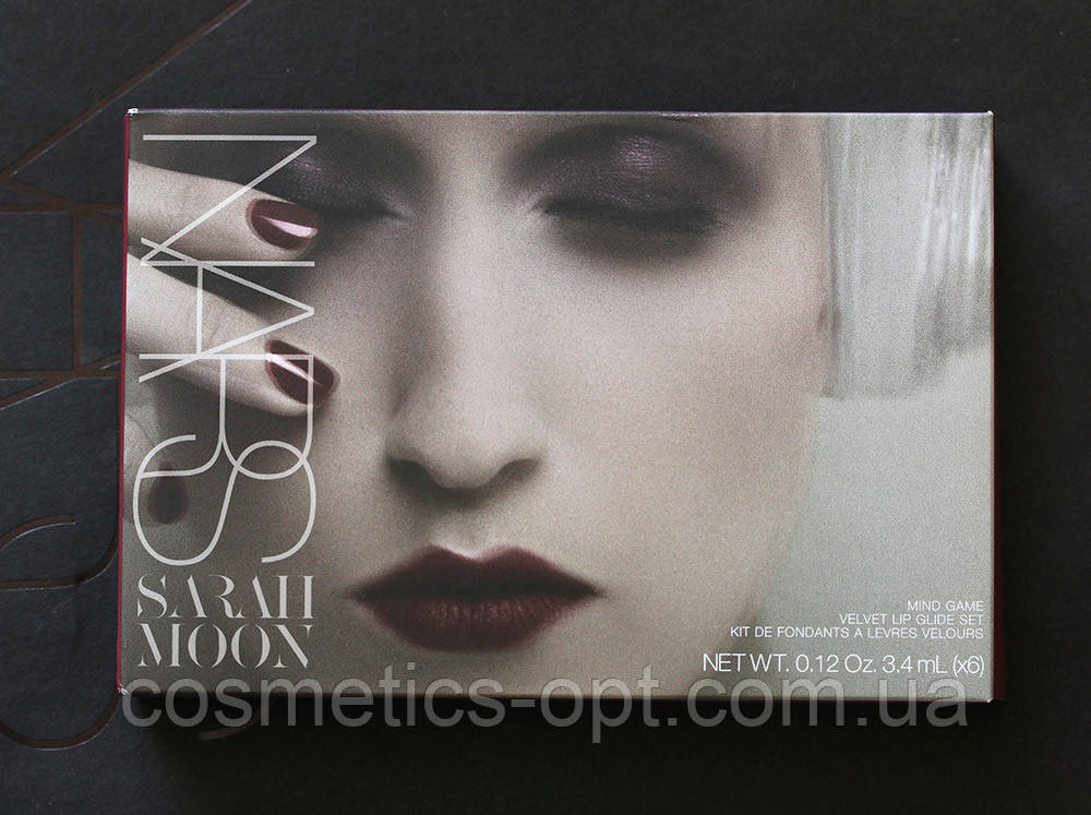 Палетка хайлайтеров-бронзаторов Nars Sarah Moon Velvet Lip Glide Set (реплика)