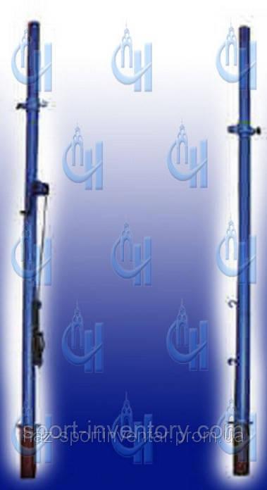 Стойки телескопические волейбольные на растяжках