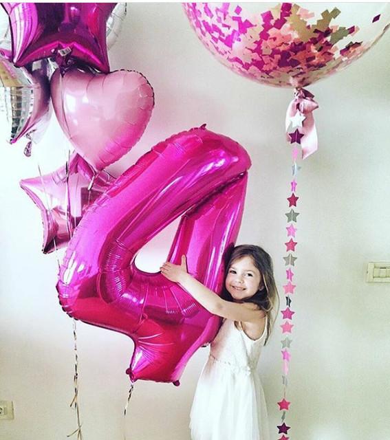 Оформление дней рождений воздушными шарами