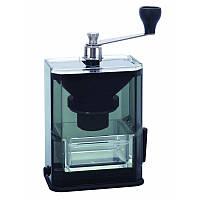 Японская ручная кофемолка Hario Clear Coffee Grinder, фото 1