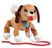 Интерактивный щенок Peppy Pets Веселая прогулка - Бассет 28 см (245277)