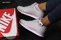 Женские кроссовки Nike Zigmaze бежевые с розовым (Реплика ААА+), фото 1