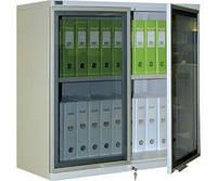 Шкаф архивный (канцелярский) NOBILIS NM-0991 G (ВхШхГ-900х915х458)