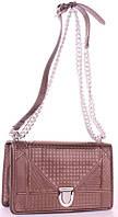 Женская сумка клатч 818 CHRISTIAN DIOR Женские брендовые клатчи и сумки через плечо