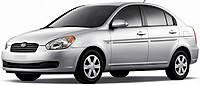 Коврики на Hyundai Accent (2006-2010)