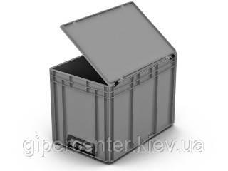 Крышка евроконтейнера 50.512.1.91/61 (400х300 мм), фото 2