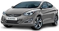Коврики на Hyundai Elantra (c 2011--)