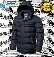 Зимняя куртка спорт Braggart Aggressive - 4303#4302 графит