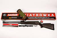 Пневматическая винтовка Germany Black Hunter 4,5 мм оптика 4х20, фото 1