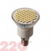 Светодиодная LED лампа 3528 R50 4.0W 220В 18 SMD E14 4100К TM 220 (78471)