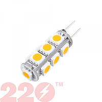 Светодиодная LED лампа 5050 G4 LE 3.0W 12В 13 SMD 260lm G5.3 дневной свет TM 220 (78479)