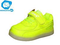 Детские кроссовки Led с подсветкой  ТМ Clibee, 26-28