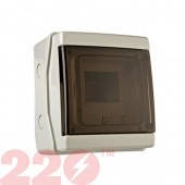 Коробка під автомат вологозахисна  5 IP54 (0570)  Get-San